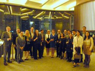 Linacre Dinner in Hong Kong on 23 March 2017