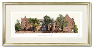 Linacre College by VA Prints