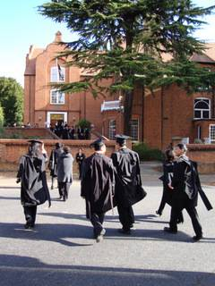 Linacre Matriculation 2009