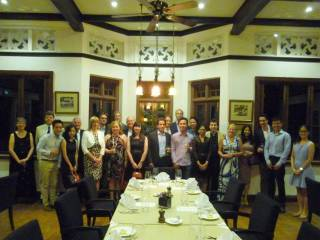 Linacre Dinner in Singapore on 24 March 2017