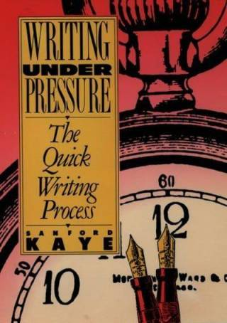 Writing Under Pressure cover image