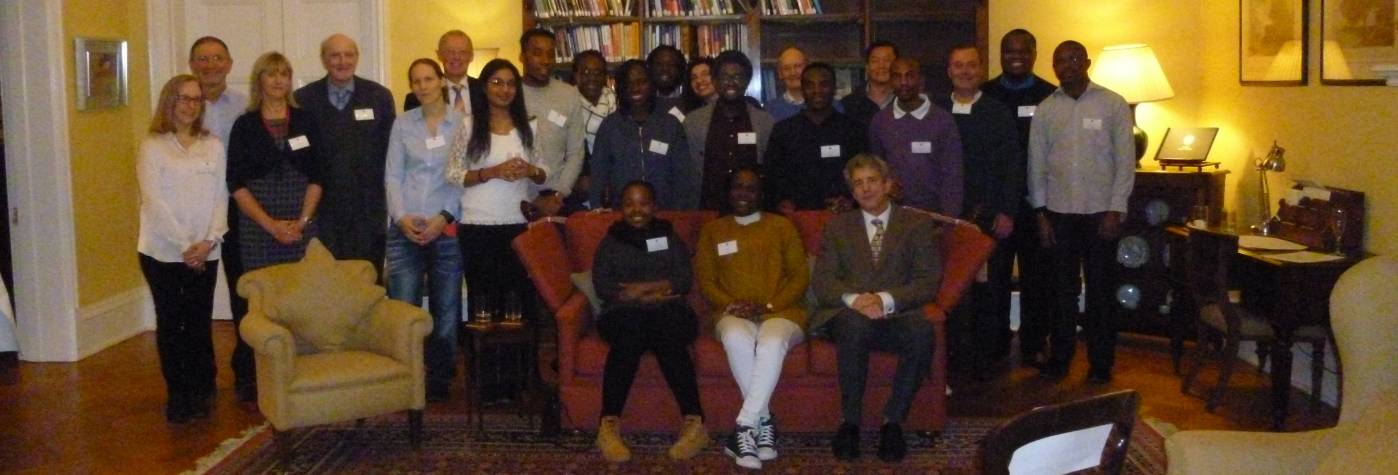 Inaugural gathering of African Network, group photo