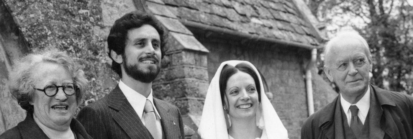 Tiliacos wedding with Lady and Sir John Hicks