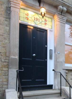Entrance to 191 Iffley Road House