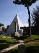 ILL 2014 tour of Non-Catholic Cemetery Rome