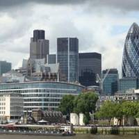 City London skyline